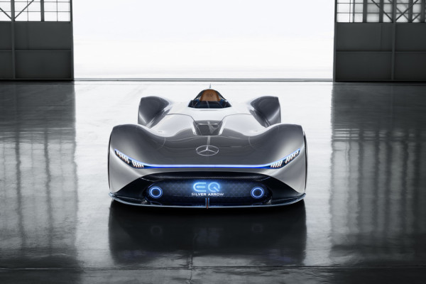 Mercedes-Benz Vision EQ Silver Arrow.