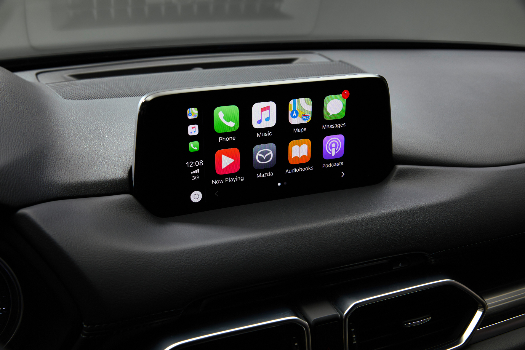 Mit dem neuen Display samt Konnektivität befindet sich das Infotainment im Mazda CX-5 auf dem technologischen Stand der heutigen Zeit.