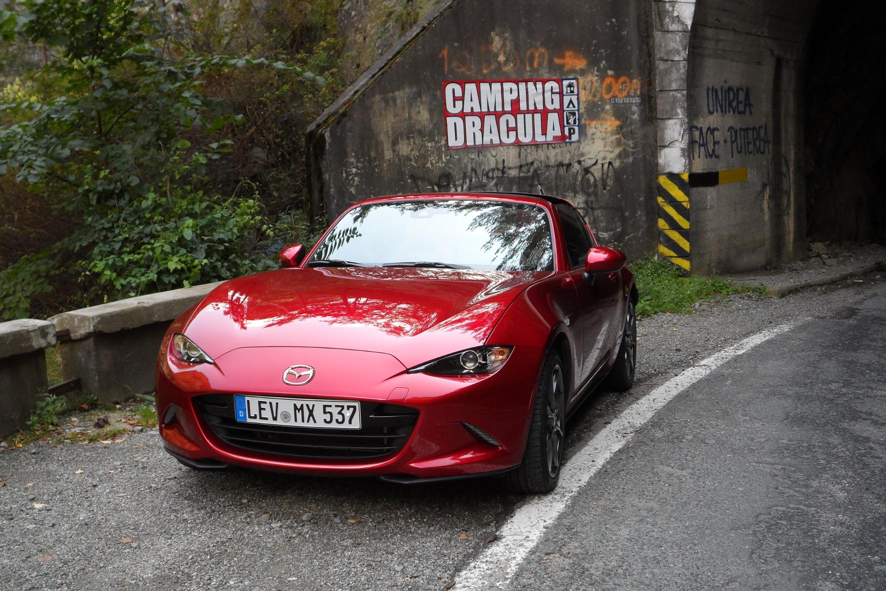 Der Mazda MX-5 zeigt in der Heimat Dra