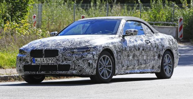 Erlkönig: BMW 4er Cabrio.