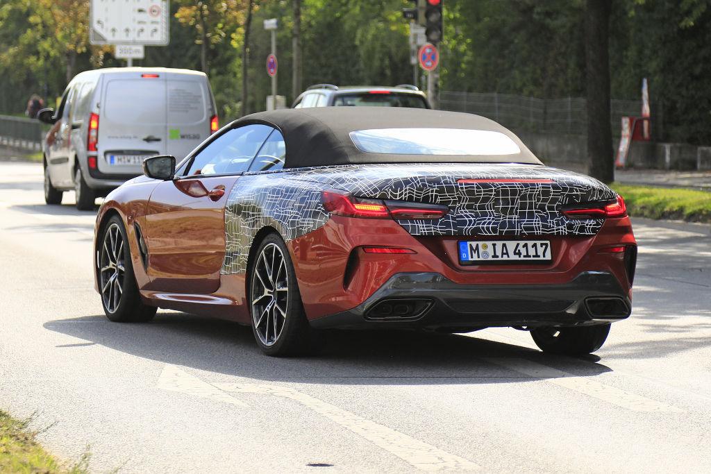 BMW 8er Cabrio.