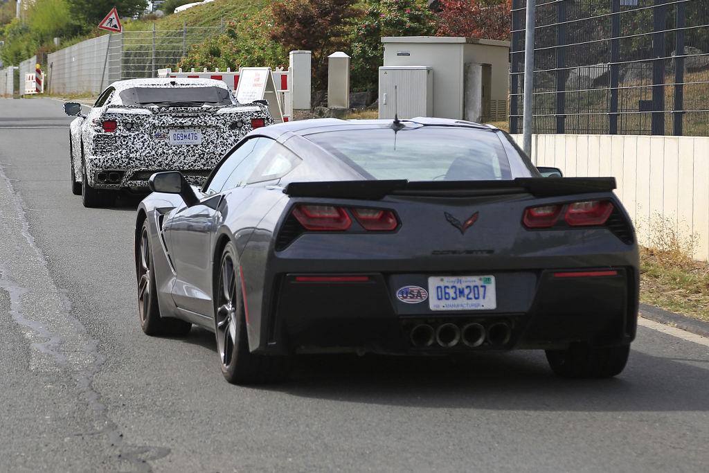 Chevrolet Corvette C8.