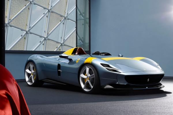 Schön und selten: der neue Ferrari Monza SP1.