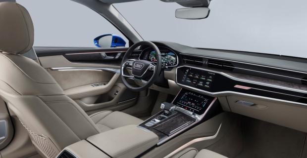 Digital und mit Fingertipp zu steuern: Die Bedienung des Audi Avant ist auf dem modernsten Niveau.