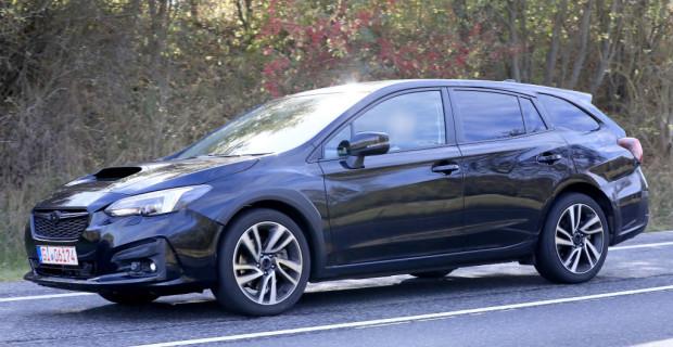 Subaru Levorg Erlkönig.