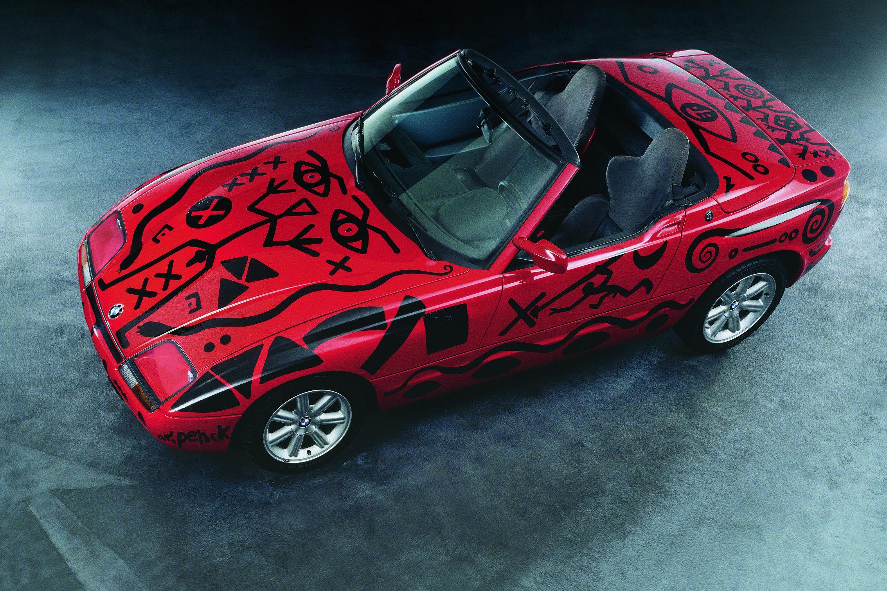 A. R. Penck gestaltete 1991 einen BMW Z1.