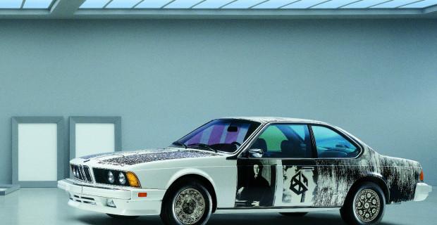 Der BMW 635 CSi von Robert Rauschenberg aus dem Jahr 1986.