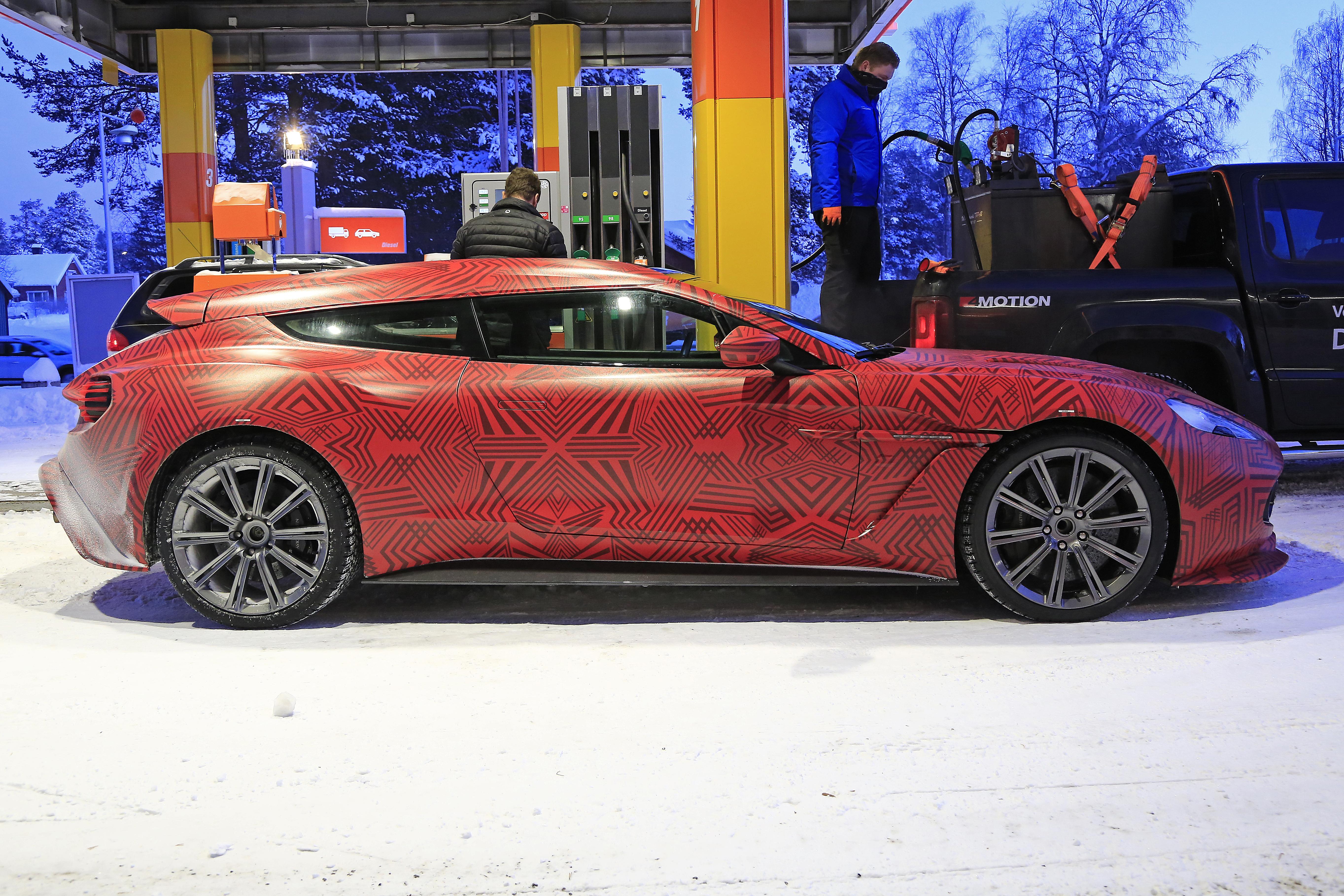 Aston Martin Vanquish Zagato Shooting Brake.