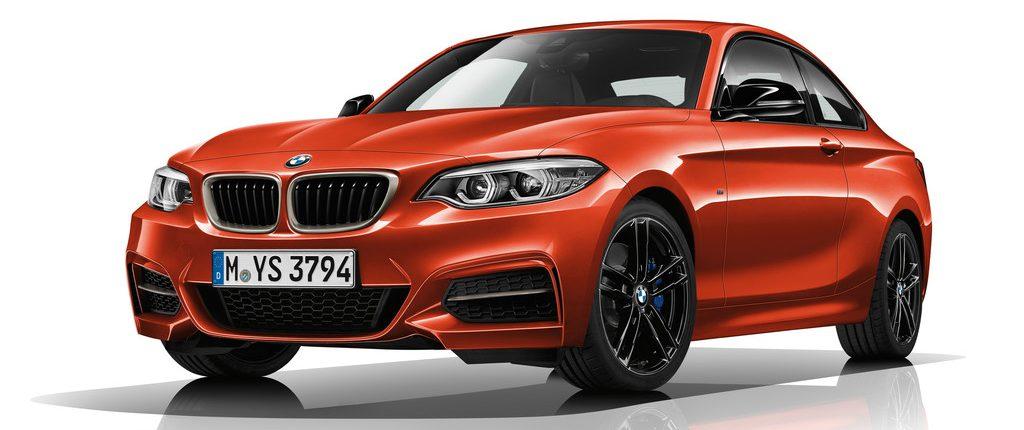 BMW M240i Coupé.