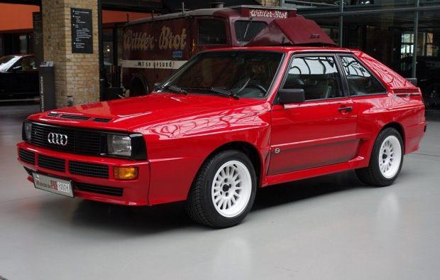 Begehrter Klassiker: Ein roter Audi Sport Quattro wurde jüngst für 425 000 Euro verkauft.