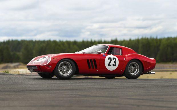 Ferrari 250 GTO by Scaglietti (1962).