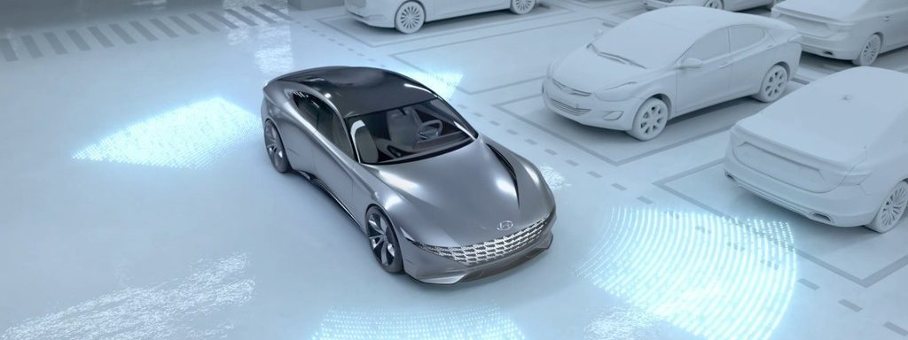 Hyundai arbeitet an einem System, das automatisches Parken und Laden von Elektrofahrzeugen kombiniert.
