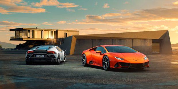 Lamborghini Huracán Evo.