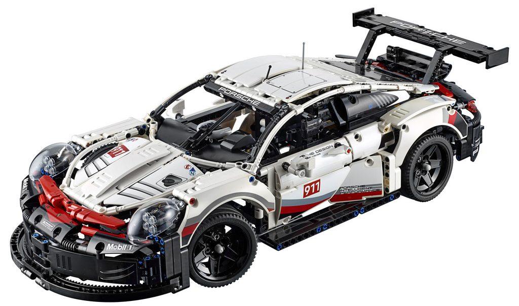 Porsche 911 RSR von Lego Technic (1:8).