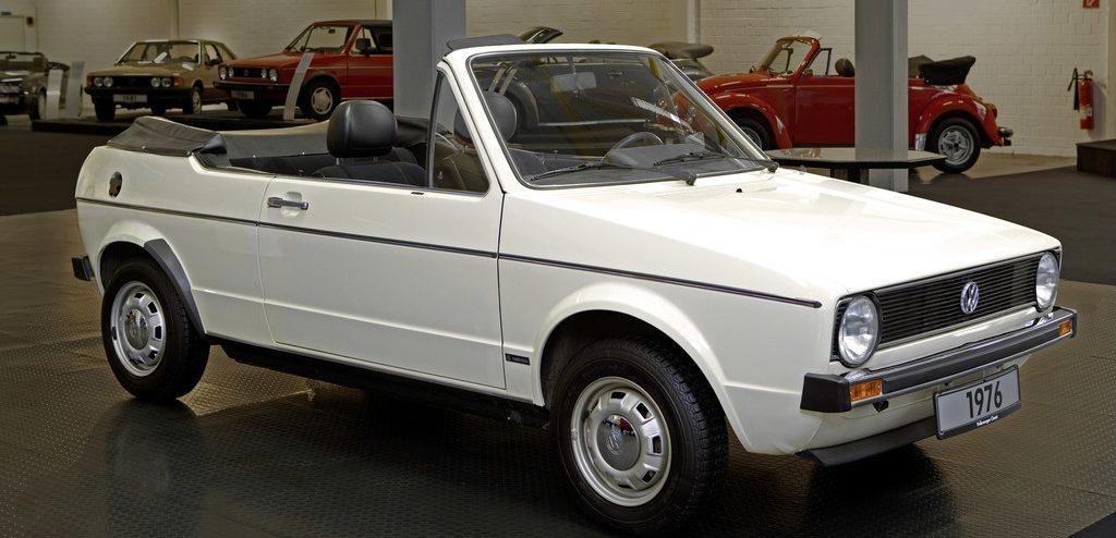 VW Golf I Cabriolet Prototyp (1976).