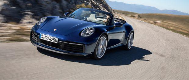 Mit dem neuen Porsche 911 Cabriolet legt Porsche die offene Variante zur neuesten Modellgeneration nach.