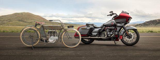 110 Jahre V2-Motoren von Harley-Davidson.