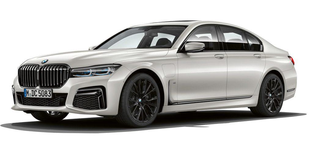 BMW 745e.