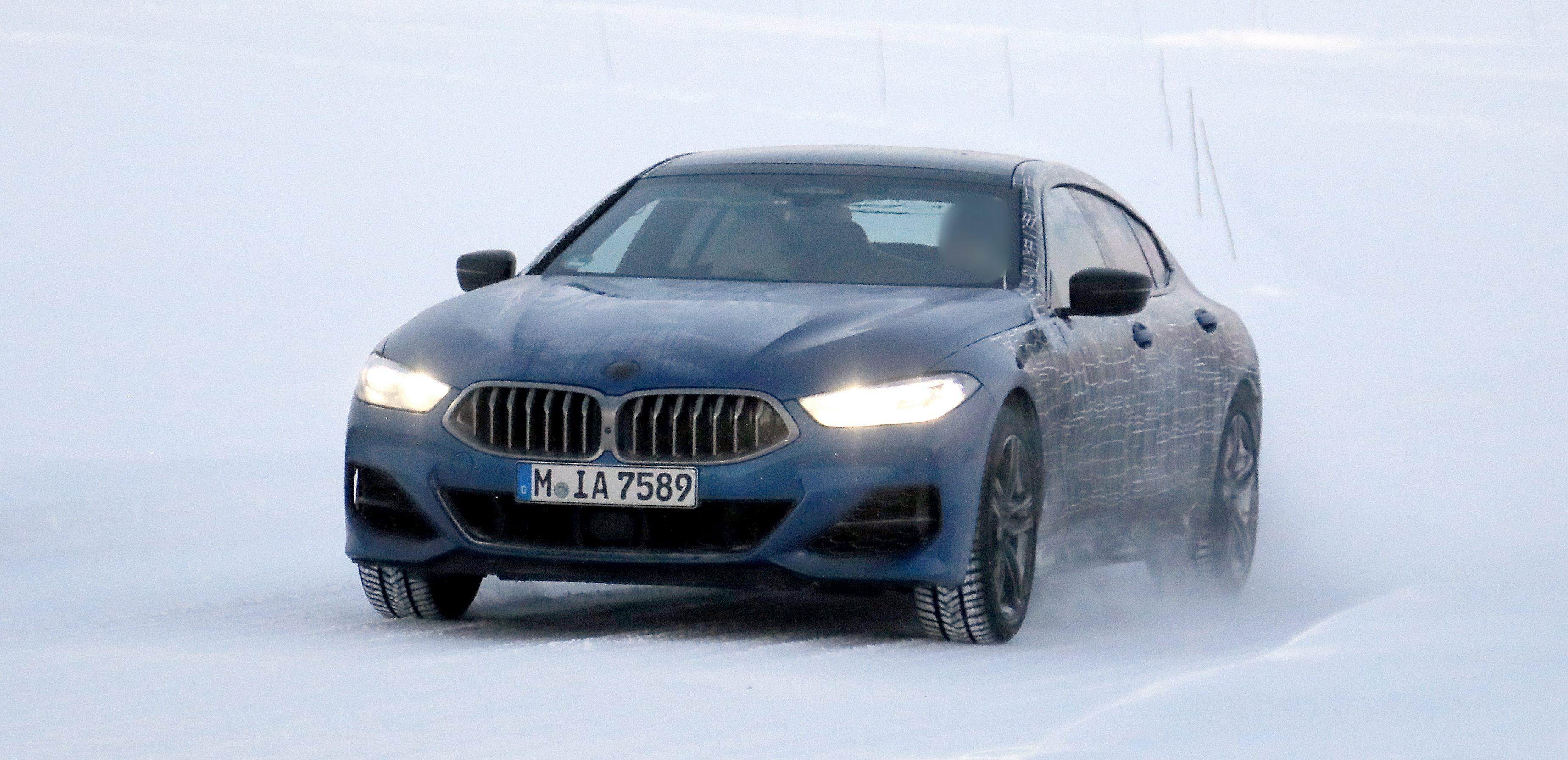 BMW 8er GranCoupe.
