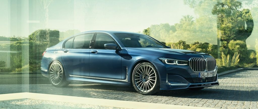 BMW Alpina B7.