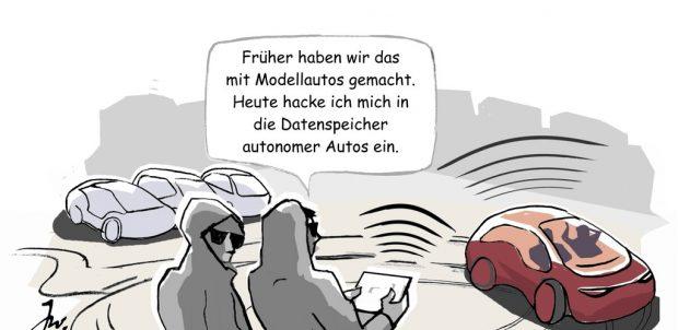 Cyberkriminalität.
