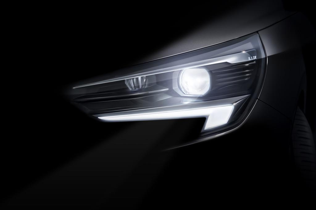 Der neue Opel Corsa bekommt das Intelli-Lux-LED-Matrix-Licht.
