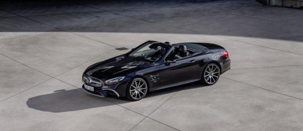 """Mercedes-Benz SL fährt als """"Grand Edition"""" an die frische Luft"""