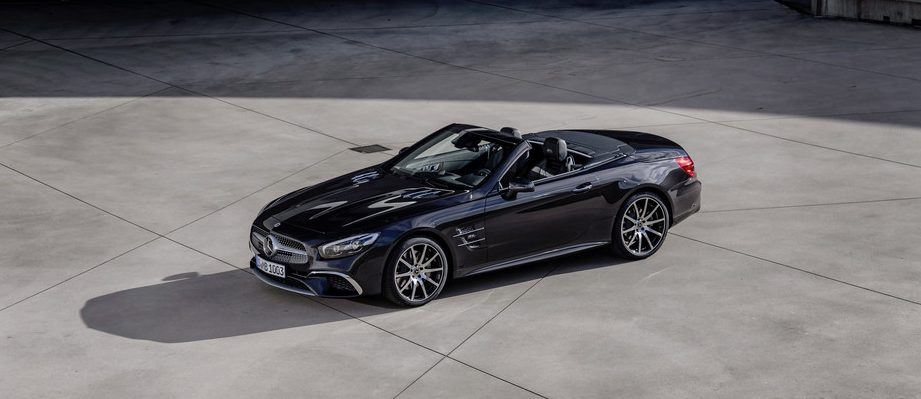 Mercedes-Benz SL 500 Grand Edition.
