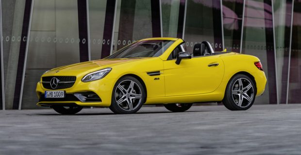 Mercedes-Benz SLC.