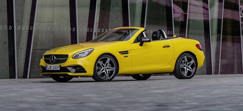 Mercedes-Benz SLC.
