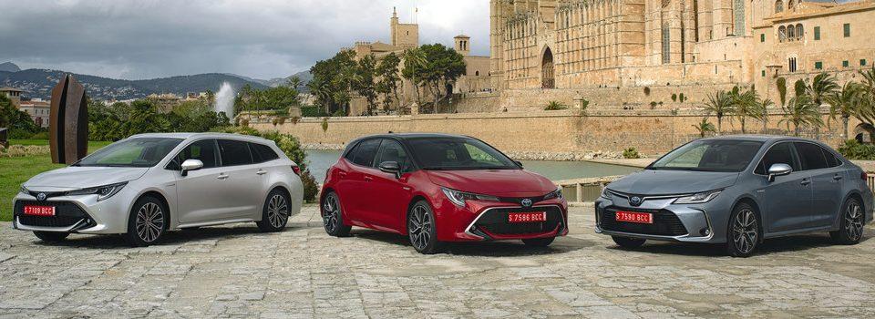 Toyota Corolla: Touring Sport, Limousine und Hatchback (von links).