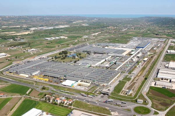 Transporter-Werk Sevel von PSA und Fiat Chrysler in Italien.