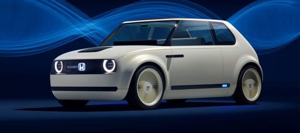 Die schicke Studie Urban EV Concept soll Pate stehen für das Design des Serien-Stromers, dessen Prototyp Honda beim Genfer Autosalon 2019 zeigen wird.