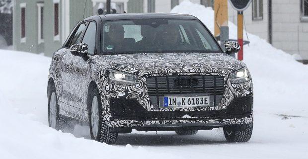 Audi Q2 e-Tron Erlkönig