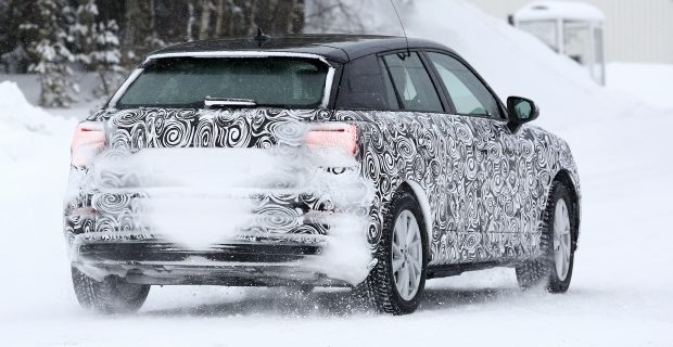 Erlkönig Audi Q2 e-tron.