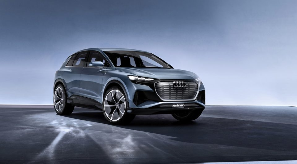 Audi Q4 e-tron concept.