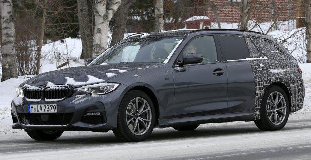 BMW 3er Touring Erlkönig in Schweden