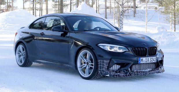 Erlkönig BMW M2 CS.