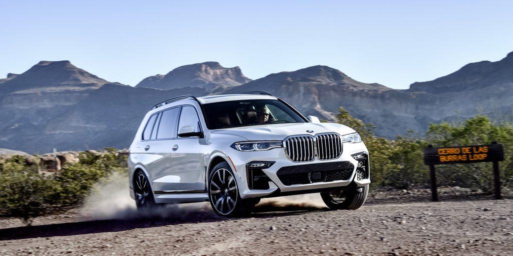 BMW X7 x-Drive 50i.