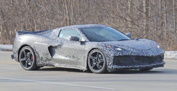 Chevrolet Corvette C8 Mid-Engine Erlkönig auf Testfahrt