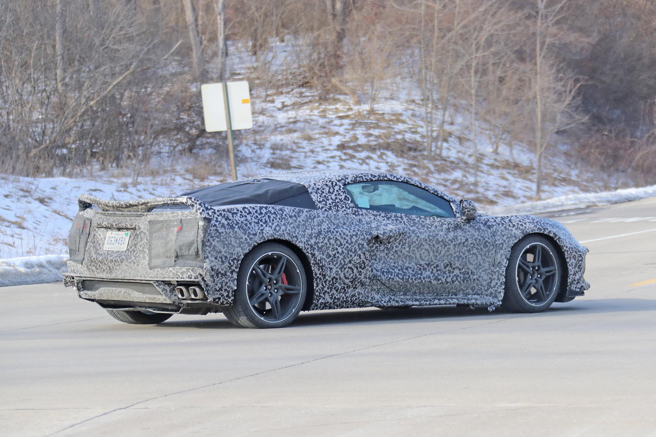 Corvette C8.