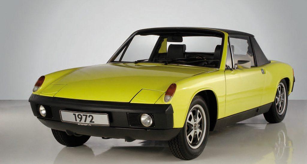 Deutschland Klassik 2011: VW-Porsche 914-4 von 1972.