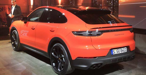 Porsche Cayenne Coupé: Ansichtssache
