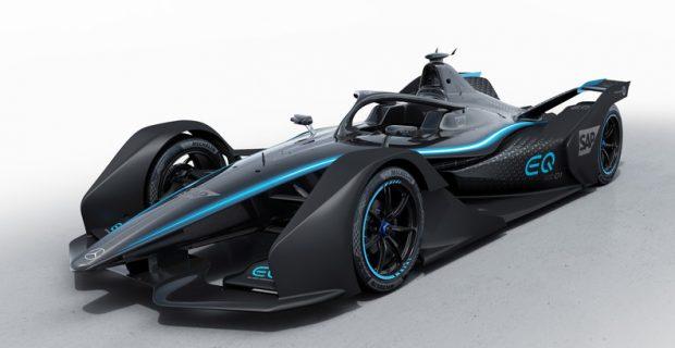 Mercedes-Benz zeigt Formel E mit Showdesign