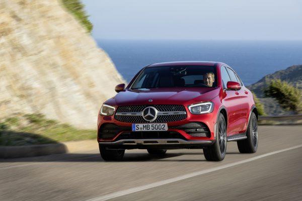 Mercedes-Benz GLC Coupé mit erweiterten Funktionen