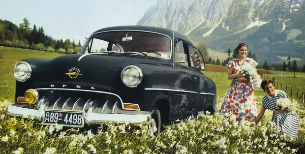 Opel Olympia Rekord (1953).
