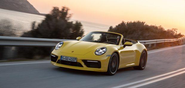 Porsche 911 S Cabriolet.