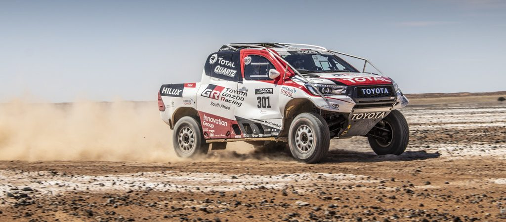 Toyota Hilux Rallye Raid.