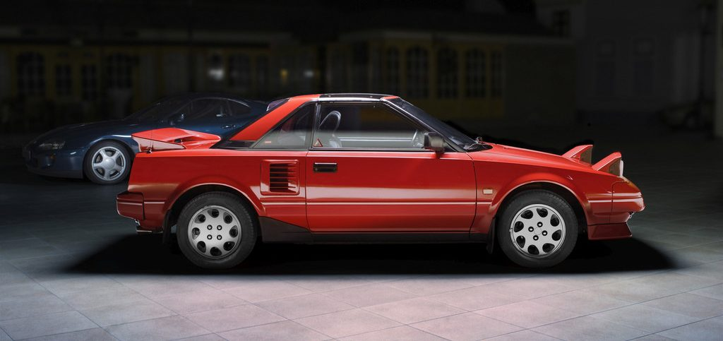 Toyota MR2, Generation 1.