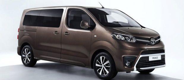 Toyota Proace Verso.